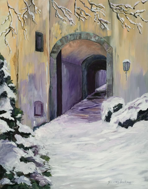 Winter at Schloss Castle